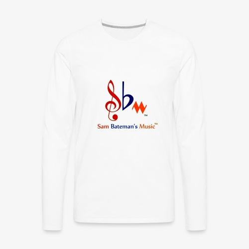 Sam Bateman's Music - Men's Premium Long Sleeve T-Shirt