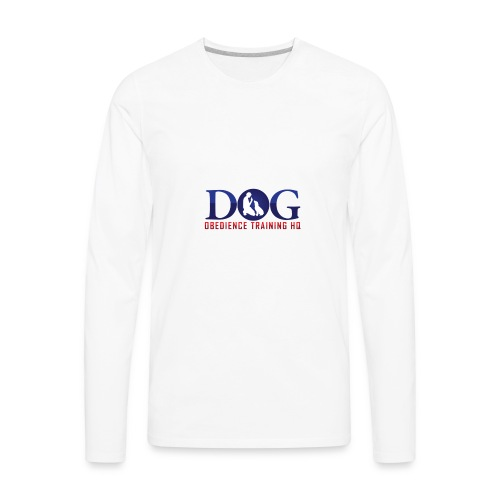 Dog Obedience Training Headquarters - Men's Premium Long Sleeve T-Shirt