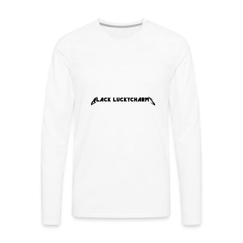 Mattalica logo merch - Men's Premium Long Sleeve T-Shirt