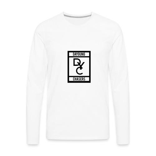 DYC-LOGO - Men's Premium Long Sleeve T-Shirt