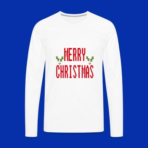 MerryChristmas - Men's Premium Long Sleeve T-Shirt
