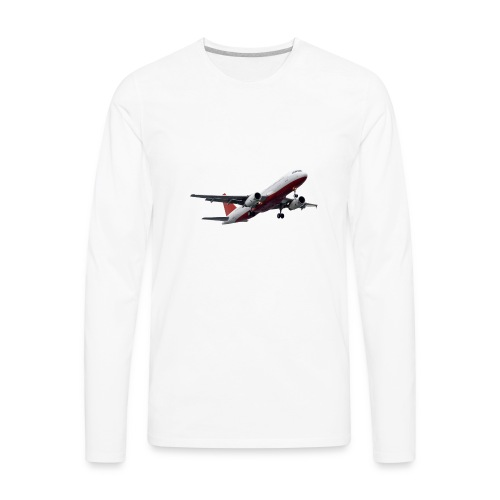 Plane - Men's Premium Long Sleeve T-Shirt