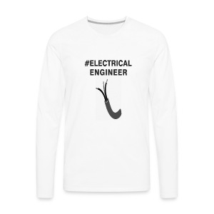 electricaleng - Men's Premium Long Sleeve T-Shirt