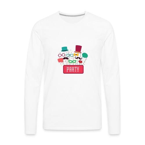 party teeshirt - Men's Premium Long Sleeve T-Shirt
