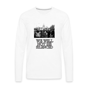 March for our lives - Men's Premium Long Sleeve T-Shirt