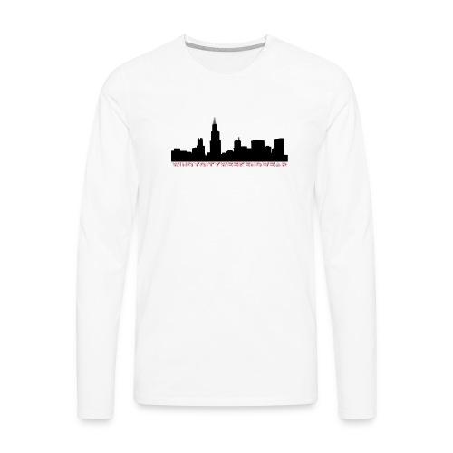 City Box Logo - Men's Premium Long Sleeve T-Shirt