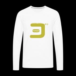 3P white - Men's Premium Long Sleeve T-Shirt