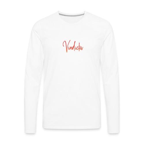 Fire Logo - Men's Premium Long Sleeve T-Shirt