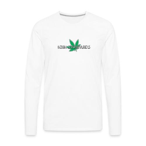 High Standards - Men's Premium Long Sleeve T-Shirt