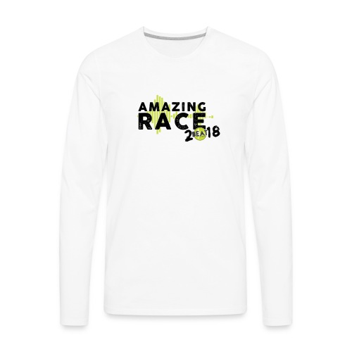 Amazing Race - Men's Premium Long Sleeve T-Shirt