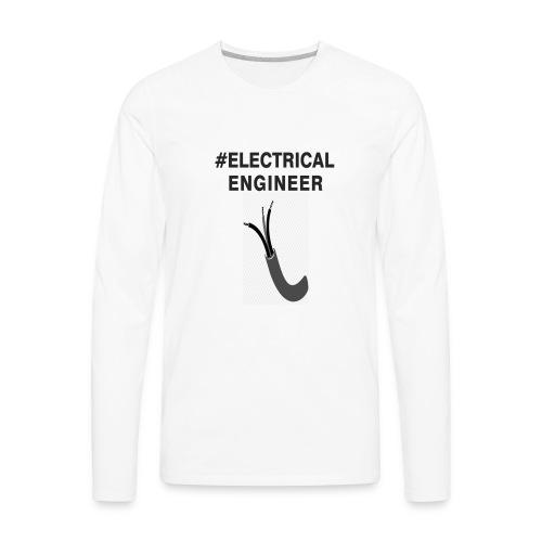 electricaleng - Men's Premium Long Sleeve T-Shirt