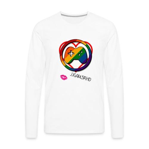 JJGAM3RHD Premium Valentines - Men's Premium Long Sleeve T-Shirt