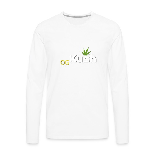OG Kush t shirt - Men's Premium Long Sleeve T-Shirt