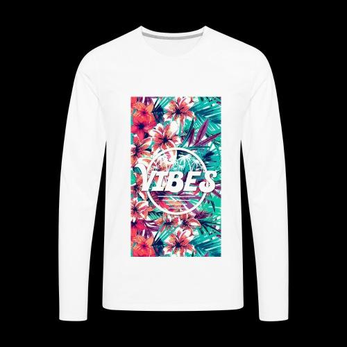 Vibes - Men's Premium Long Sleeve T-Shirt