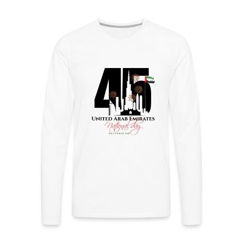UAE 45 National Union Day - Men's Premium Long Sleeve T-Shirt