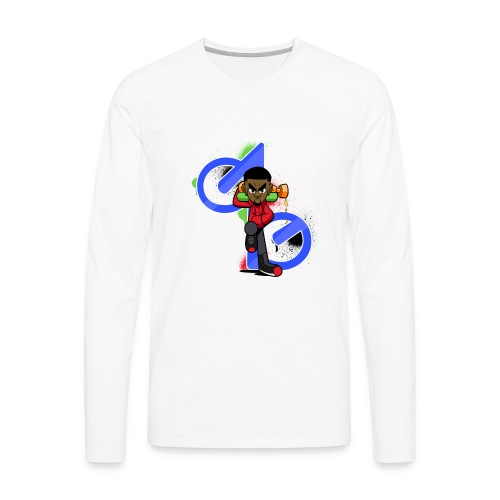 OBE1plays - Men's Premium Long Sleeve T-Shirt