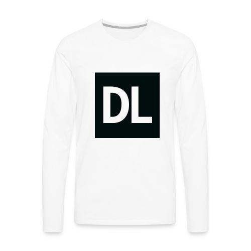 DL shirt - Men's Premium Long Sleeve T-Shirt