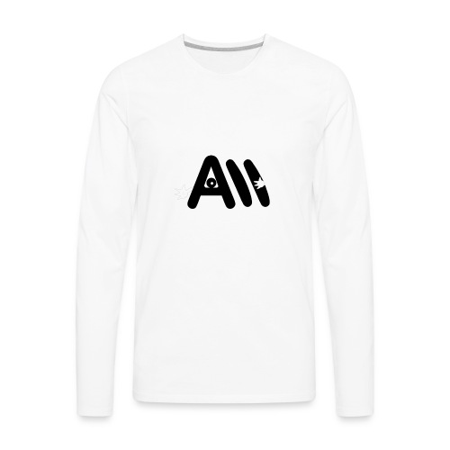 Artist Monster Logo - Men's Premium Long Sleeve T-Shirt