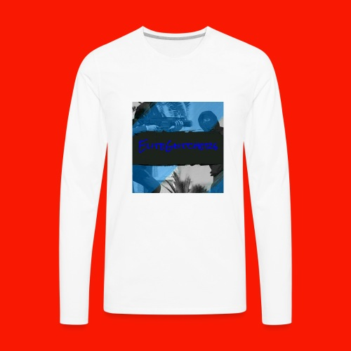 EliteGlitchersRevamp - Men's Premium Long Sleeve T-Shirt