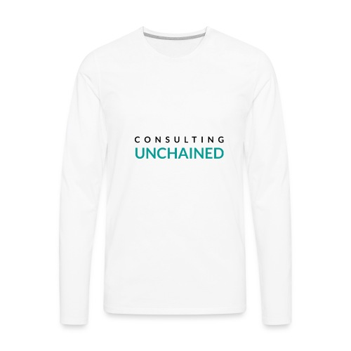 Consulting Unchained - Men's Premium Long Sleeve T-Shirt