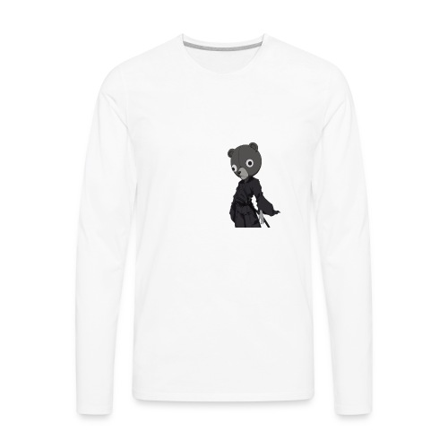 Jinnosuke Stand off pose - Men's Premium Long Sleeve T-Shirt