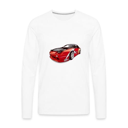 cars drift - Men's Premium Long Sleeve T-Shirt