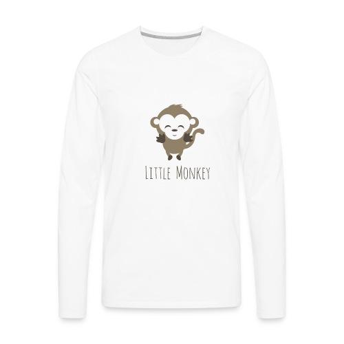 Little Monkey - Men's Premium Long Sleeve T-Shirt