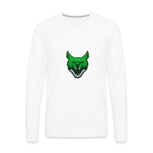 Zarah Mascot - Men's Premium Long Sleeve T-Shirt