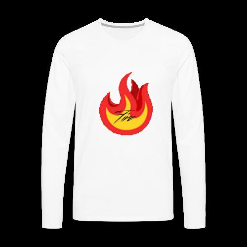 FireBrandV1 - Men's Premium Long Sleeve T-Shirt