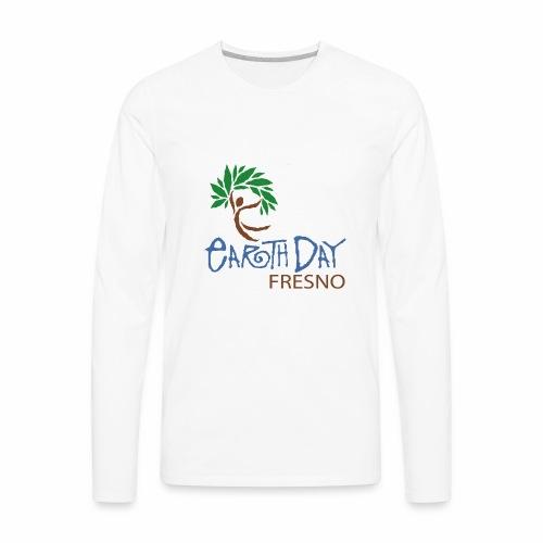 Earth day T Shirt Design - Men's Premium Long Sleeve T-Shirt