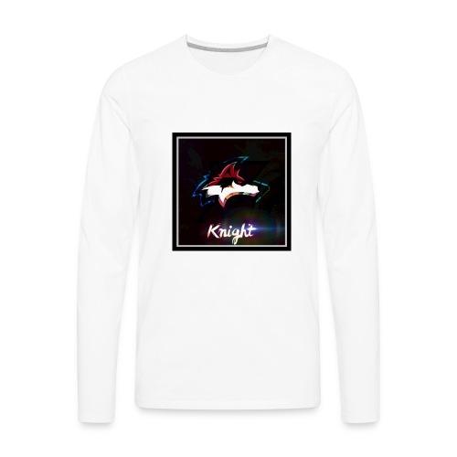 Wolf Knight - Men's Premium Long Sleeve T-Shirt