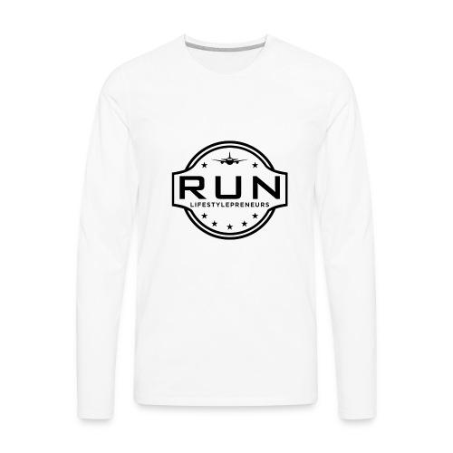 Rank Up Now - Lifestylepreneurs - Men's Premium Long Sleeve T-Shirt