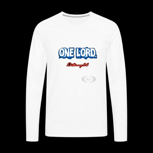 One Lord - Men's Premium Long Sleeve T-Shirt