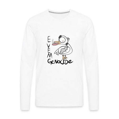 Evem Genocide - Men's Premium Long Sleeve T-Shirt