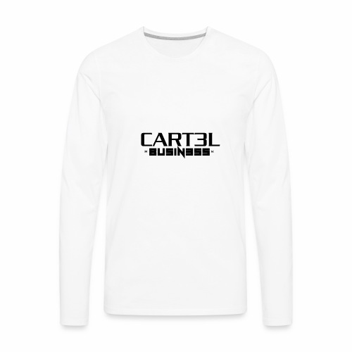 CARTEL BUSINESS - Men's Premium Long Sleeve T-Shirt