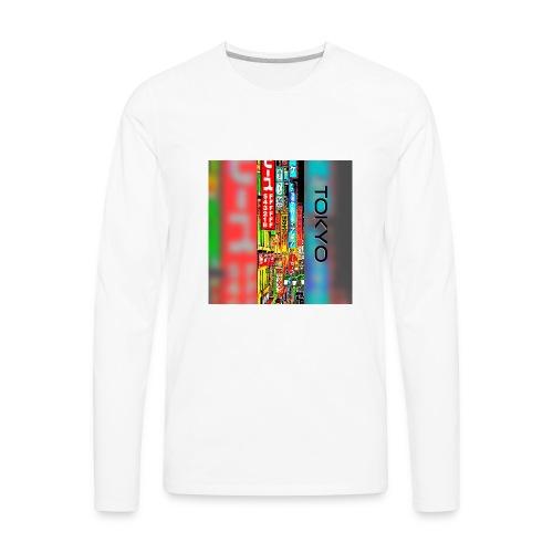 Tokyo - Men's Premium Long Sleeve T-Shirt