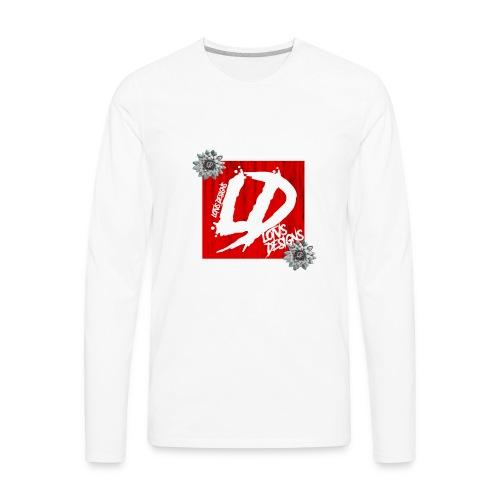 LOTVS DESIGNS RED SERIES - Men's Premium Long Sleeve T-Shirt