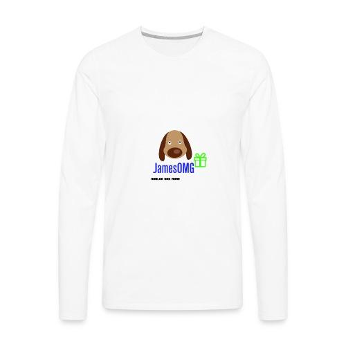 James Merch - Men's Premium Long Sleeve T-Shirt