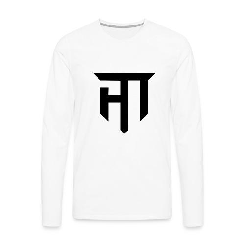 HoMie Black - Men's Premium Long Sleeve T-Shirt