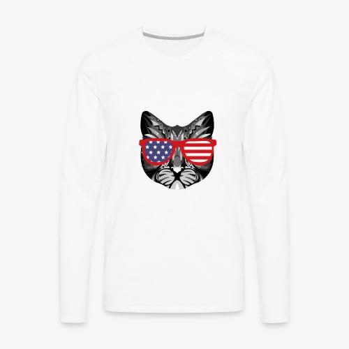 meowica - Men's Premium Long Sleeve T-Shirt