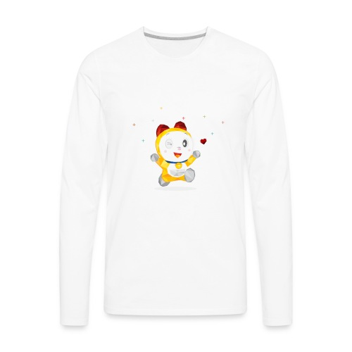 DORAMI - Men's Premium Long Sleeve T-Shirt