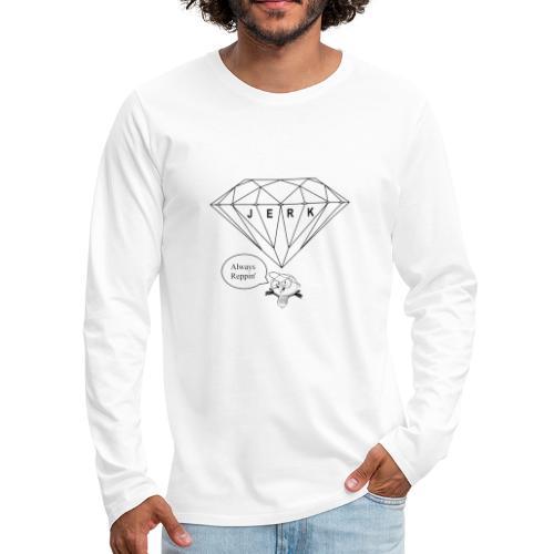 Jerk Bulb - Men's Premium Long Sleeve T-Shirt