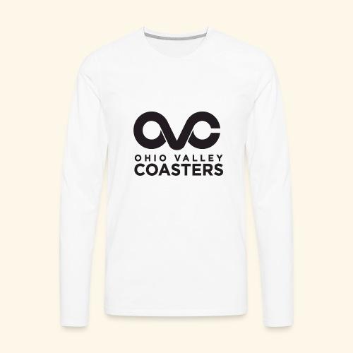OVC Basic Logo - Men's Premium Long Sleeve T-Shirt