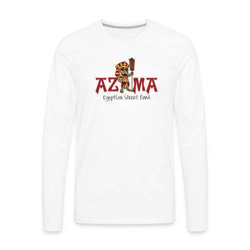 azama pharoah - Men's Premium Long Sleeve T-Shirt