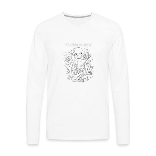 Hidden Lifeforms - Men's Premium Long Sleeve T-Shirt