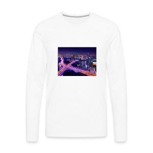 City - Men's Premium Long Sleeve T-Shirt