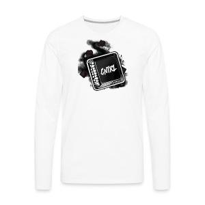 New CNTRL Logo - Men's Premium Long Sleeve T-Shirt