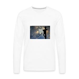 jesus way 4 you - Men's Premium Long Sleeve T-Shirt