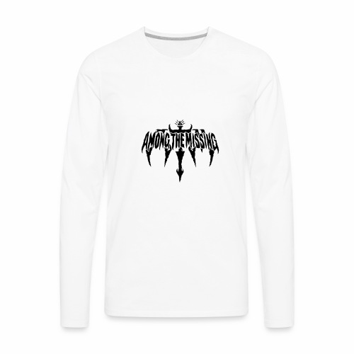 "Among The Missing ""Illuminati"" Logo - Men's Premium Long Sleeve T-Shirt"