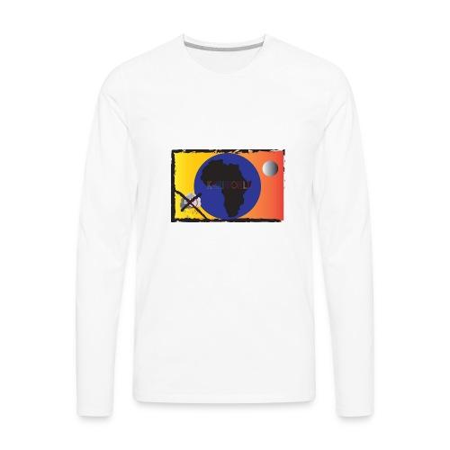 KariworlD OG logo - Men's Premium Long Sleeve T-Shirt